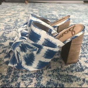 Sam Edelman Mules with Bow